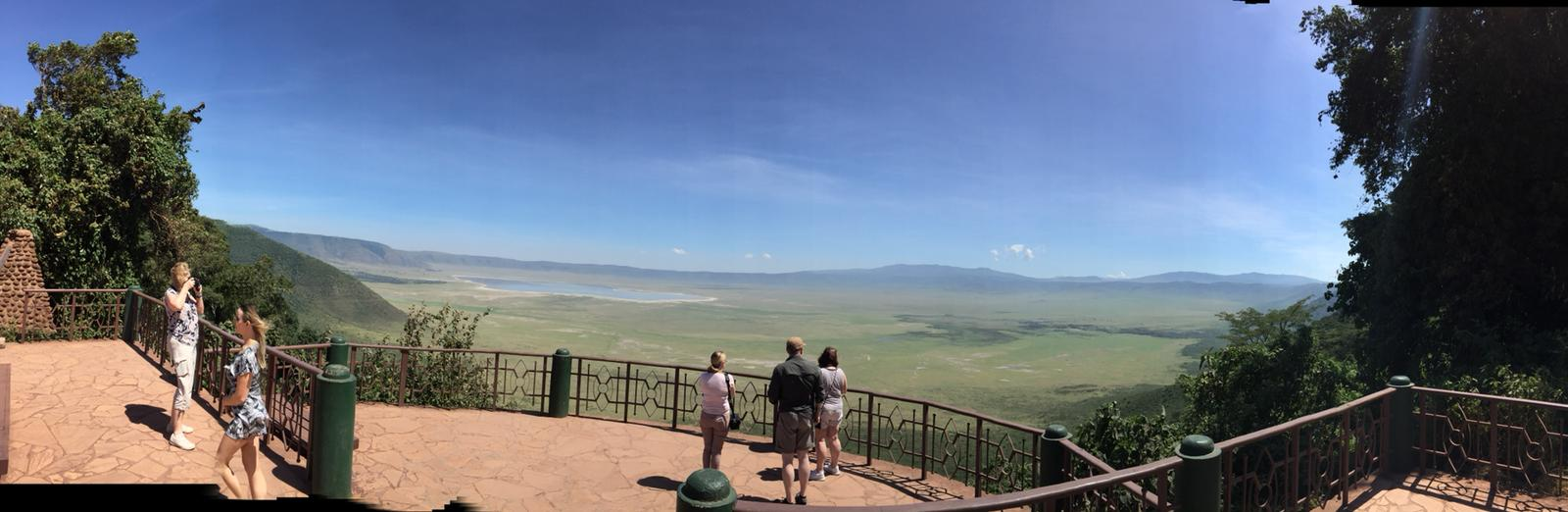 Viewpoint at Ngorongoro Conservation Area | Lisa's African Adventure | Erne Travel