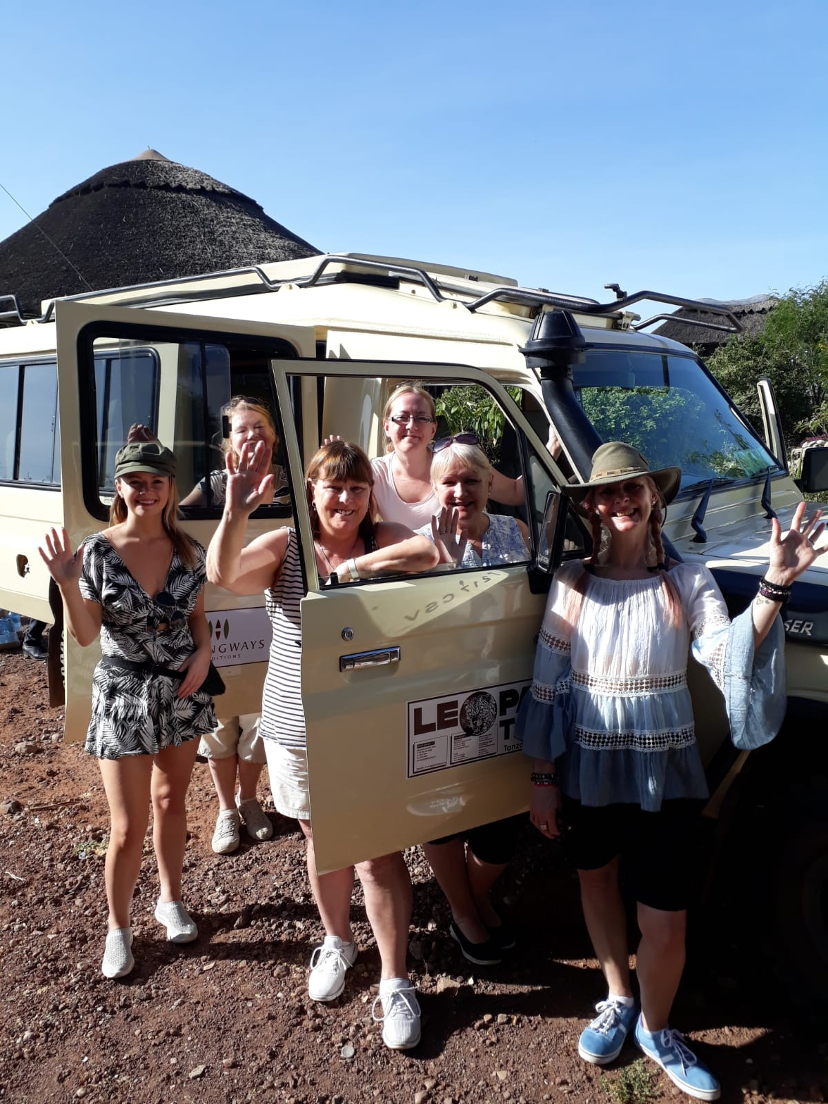 Our Vehicle for the Week | Lisa's African Adventure | Erne Travel
