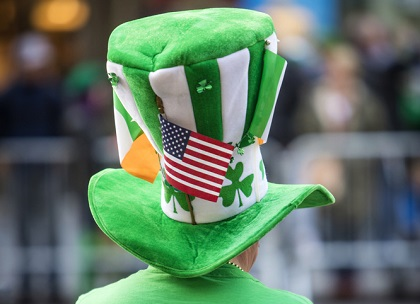 stpats patricks day man usa 394536217